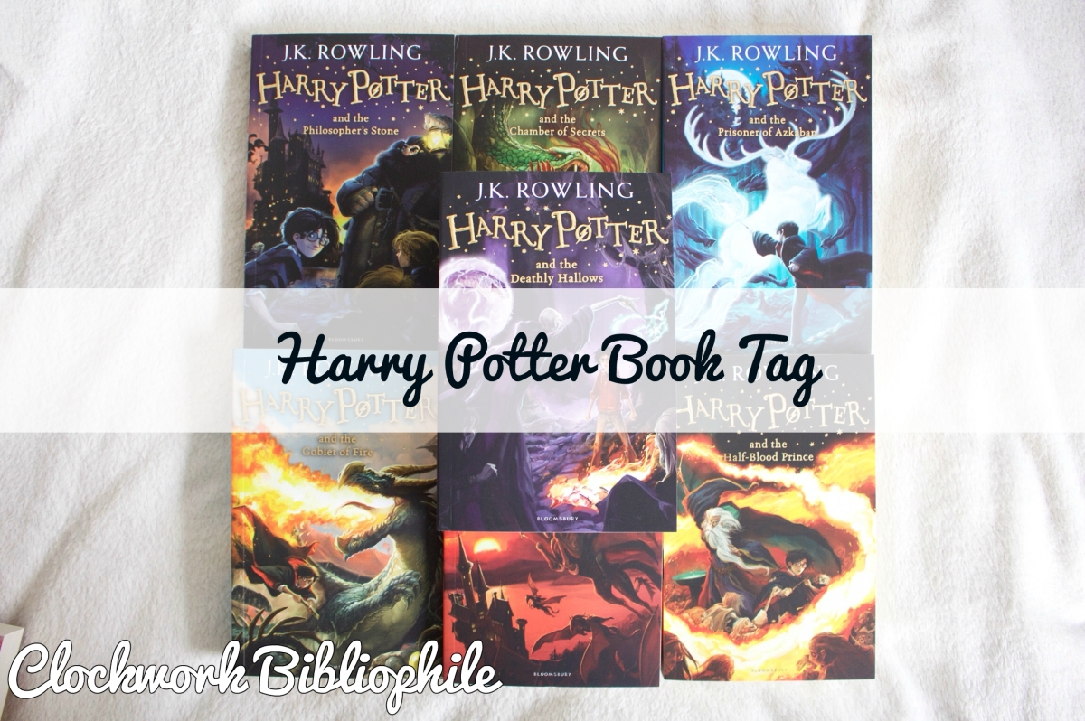 Tag: The Harry Potter Book Tag