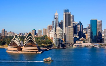 Sydney Opera House and Skyline, Sydney, Australia